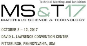 MS&T @ David L Lawrence Convention Center | Pittsburgh | Pennsylvania | United States