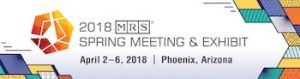 MRS 2018 Spring Meeting & Exhibit @ Phoenix Convention Center | Phoenix | Arizona | United States