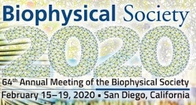 Biophysical Society 2020 @ San Diego Convention Center | San Diego | California | United States