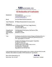 CE Declaration E50
