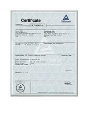TÜV E50 UL Certificate